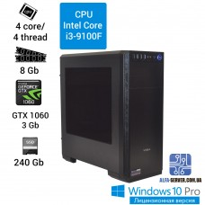Компьютер  (Alfa Server) Intel Core i3-9100F