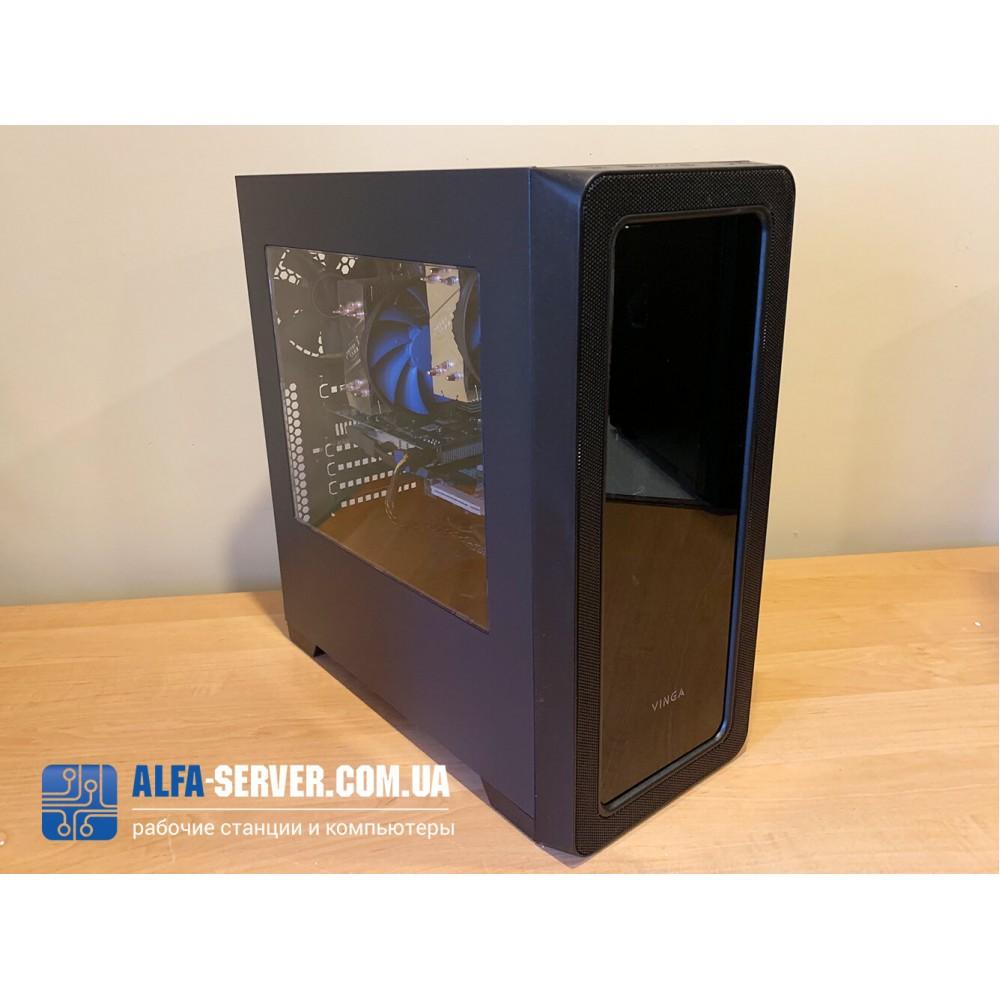 Рабочая графическая станция AlfaServer (WORKSTATION E5 2665) - двухпроцессорный компьютер для обработки данных в сложно вычислительных задачах.