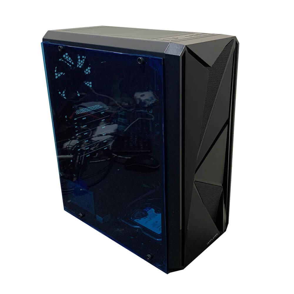Рабочая станция Alfa Server #1 E5 2680v2 10 ядер 20 потоков, ОЗУ 32GB, Nvidia GeForce GTX 1050 Ti 4GB