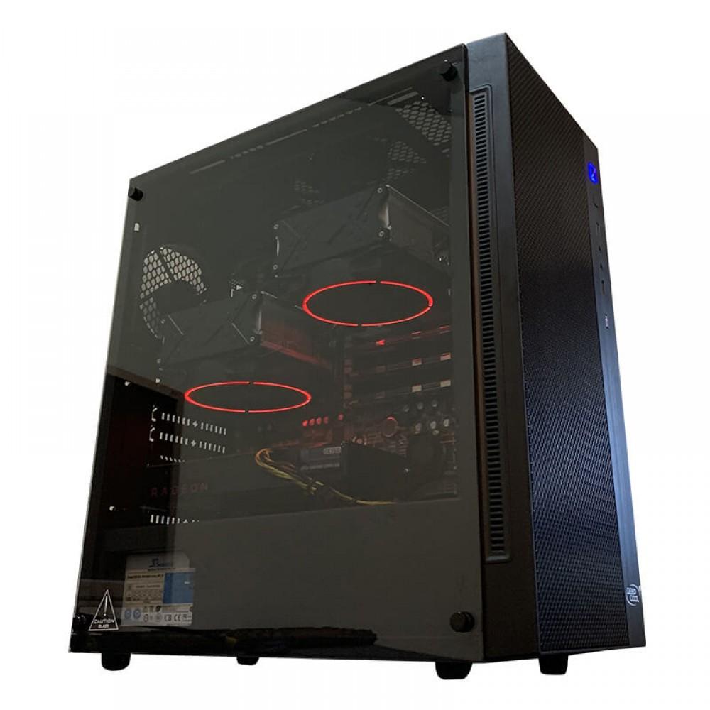 Рабочая станция 2х X5670, 12 ядер 24 потока 48 ОЗУ Radeon RX 470 4GB. Купить рабочую станцию.