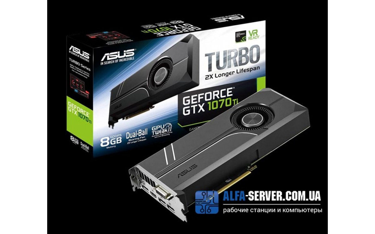 Обзор видеокарты ASUS Turbo GeForce GTX 1070 Ti