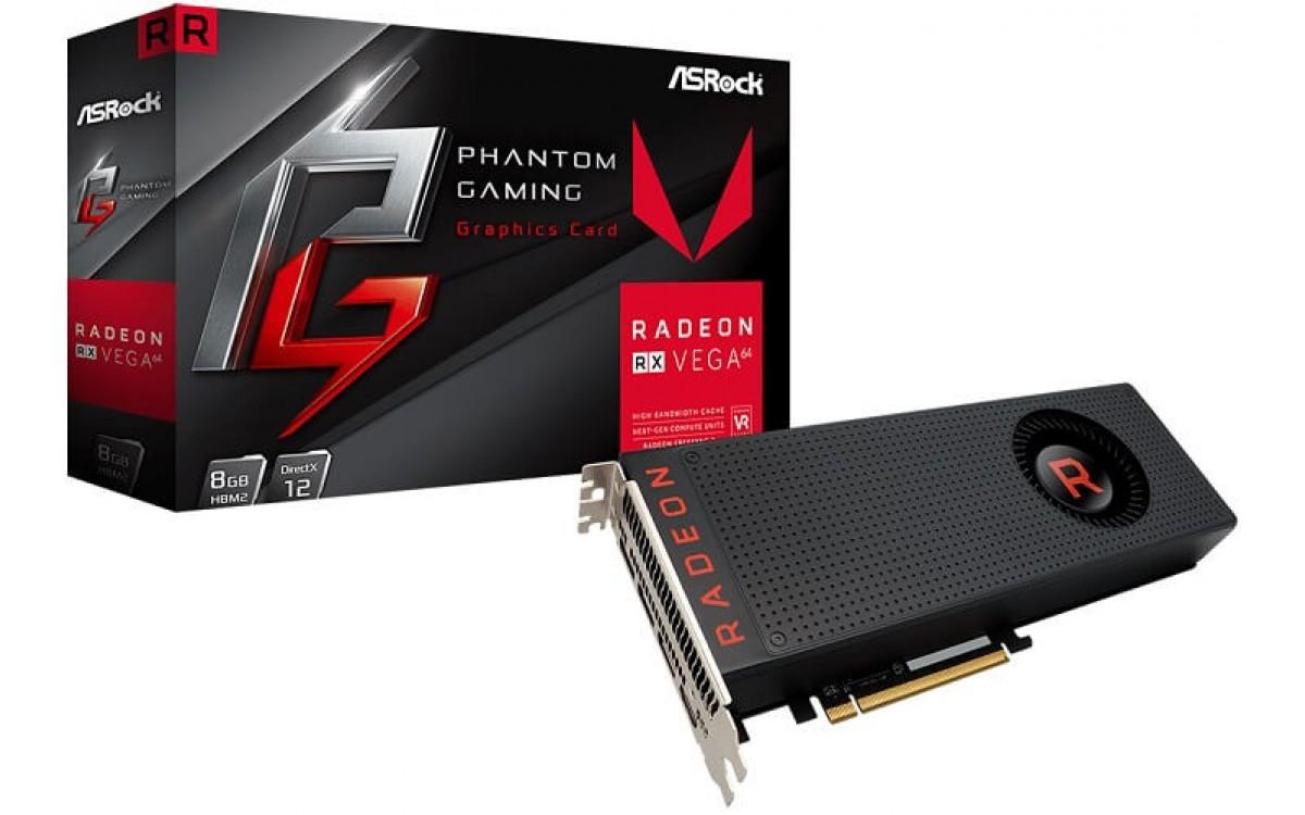 ASRock расширила серию видеокарт Phantom Gaming X адаптерами Radeon RX Vega